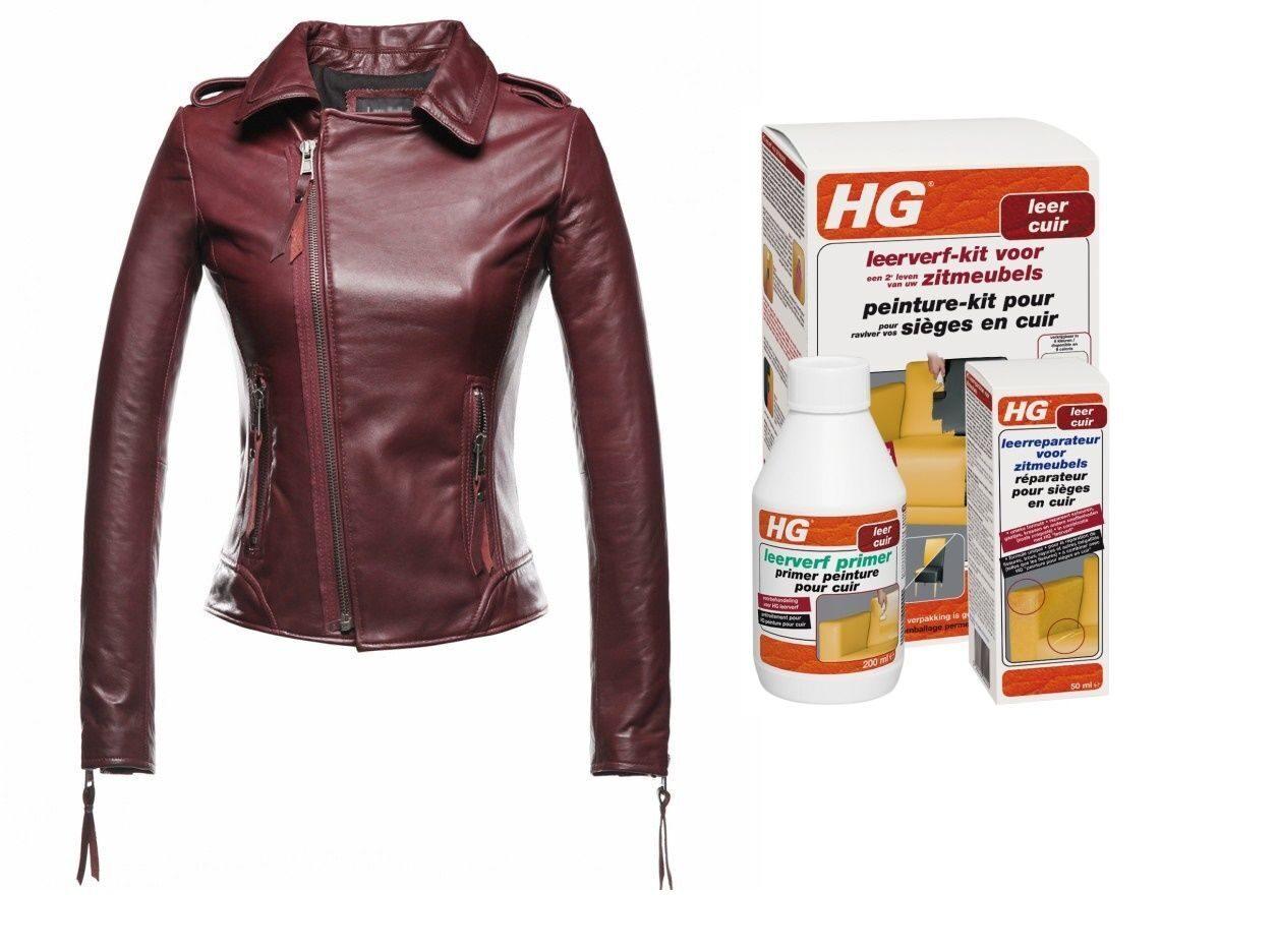Как покрасить кожаную куртку в домашних условиях и 511